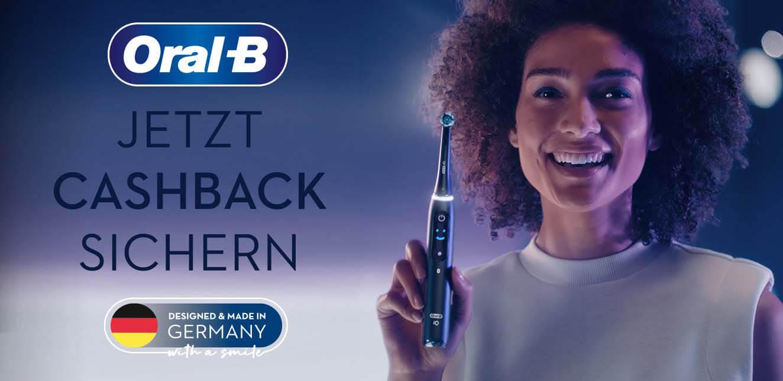 Oral B Cashback Aktion 2021